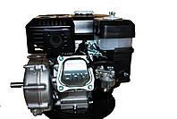 Двигатель бензиновый GrunWelt GW170F-S (CL) (центробежное сцепление, шпонка, вал 20 мм, 7.0 л.с.), фото 2