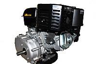 Двигун бензиновий GrunWelt GW460F-S (CL) (відцентрове зчеплення, шпонка, 18 л. с., ручний стартер), фото 3