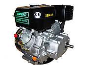 Двигун бензиновий GrunWelt GW460F-S (CL) (відцентрове зчеплення, шпонка, 18 л. с., ручний стартер), фото 4