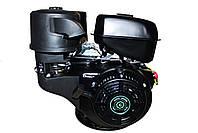 Двигун бензиновий GrunWelt GW460F-S (CL) (відцентрове зчеплення, шпонка, 18 л. с., ручний стартер), фото 8