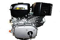 Двигун бензиновий GrunWelt GW460F-S (CL) (відцентрове зчеплення, шпонка, 18 л. с., ручний стартер), фото 9