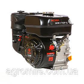 Двигатель бензиновый Weima WM170F-S ЕВРО 5 (шпонка, вал 20 мм, 7,0 л.с.)