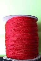 Шнур для браслетов Шамбала красный (1,5 мм)