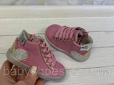 Демисезонные ботинки для девочки,Clibee, Польша. р.20-25,  ДД-95
