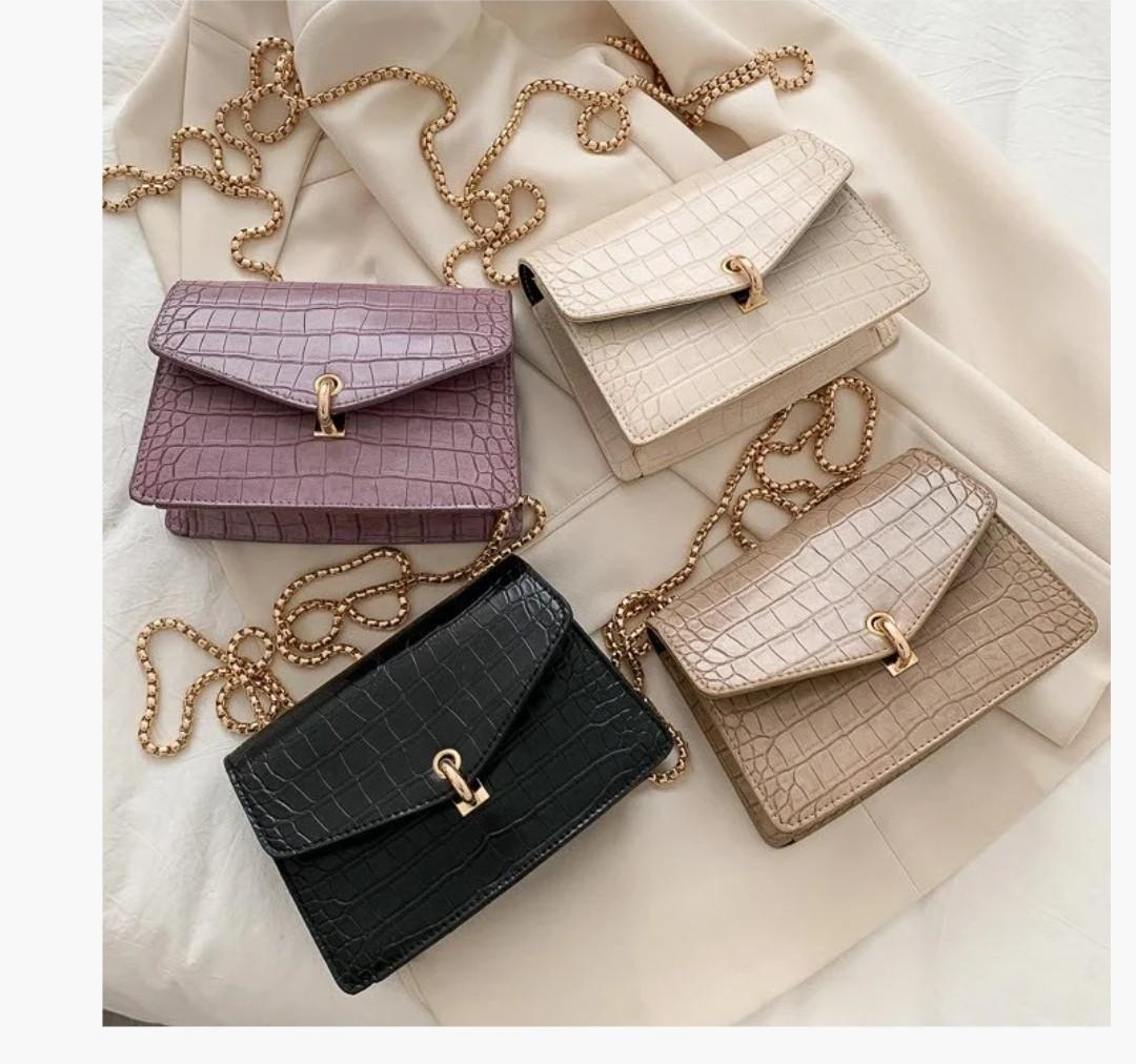 Глянцевая сумка женская