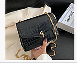 Глянцевая сумка женская, фото 2