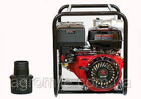 Мотопомпа бензинова WEIMA WMQGZ100-30 NEW 18 л. с. (130 куб. м/год)