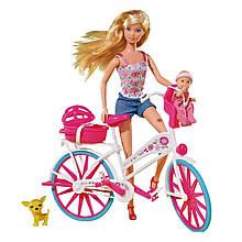 Лялька Steffi на велосипеді Simba 5739050