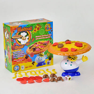 Настольная игра Fun Game Щедрий Піцейоло 7230 (2-7230-64842)