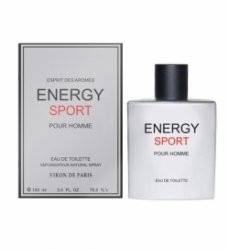 Туалетная вода Новая Заря Энерджи Спорт Energy Sport 100 мл (82385)