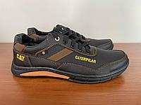 Чоловічі туфлі чорні спортивні прошиті (код 5012), фото 1