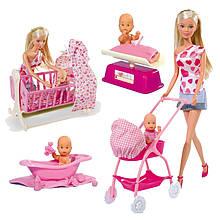 Лялька Steffi з немовлям Simba 5730861