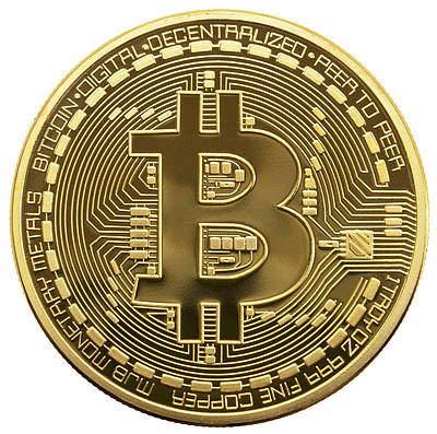 Сувенирная монета Trend-mix Биткоин Bitcoin Золотистый (tdx0000476)