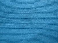 Интерлок. 4/1. 95%+5%. голубой. однотон