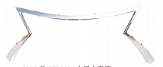 Хром рамка решітки Lexus RX 2015-2019