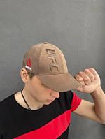 Брендовая бейсболка Reebok UFC мужская спортивная кепка хаки, реплика