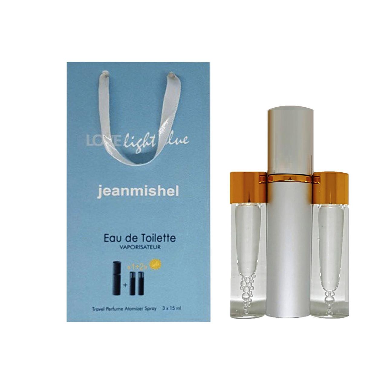Парфюм-спрей Jeanmishel Love Light Blue pour femme (26) 3 x 15 мл