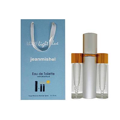 Парфум-спрей Jeanmishel Love Light Blue pour femme (26) 3 x 15 мл