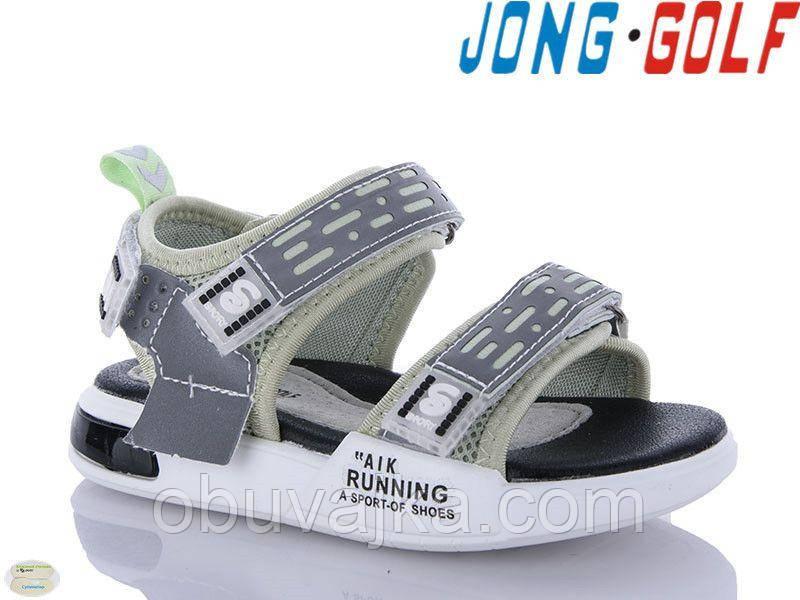 Детская летняя обувь 2021 оптом. Детские босоножки бренда Jong Golf для мальчиков (рр. с 31 по 36)