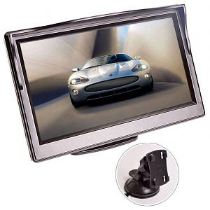 Автомобильный монитор для камеры заднего вида Podofo XSP-05 5 Черный (100385)