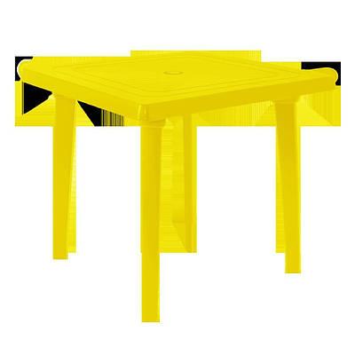 Стол квадратный Желтый (18-100012-2)