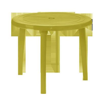 Стол круглый 90 см Оливковый (18-100011-4)
