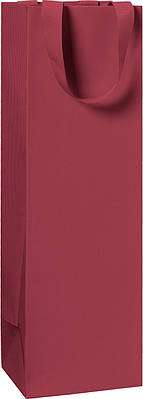 Пакет подарочный Stewo 11 х 10,5 х 36 cm Темно-красный узкий (2546784298)