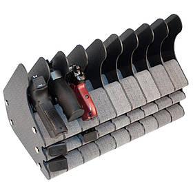 Подставка под 9 пистолетов и 18 магазинов ПЛУ9/18 (281/394/238)