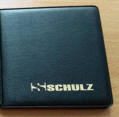 Карманный альбом для монет MM-Schulz на 32 ячейки Черный (S10)