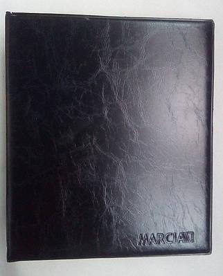 Карманный альбом для монет на 108 ячеек Микс Marcia Черный (S14)