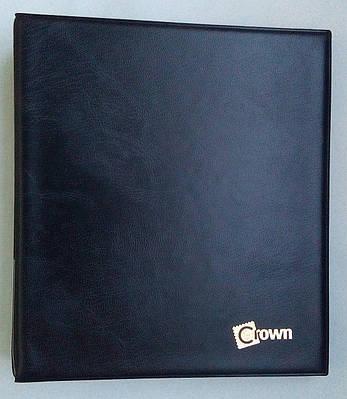 Альбом для монет в холдерах Crown 120 ячеек Черный (S20)