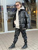 Тренд этой весны! Кожаные демисезонные куртки Р. 146 -164