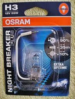 Лампа H3 55w 12v 64151nbp-01b osram, фото 1