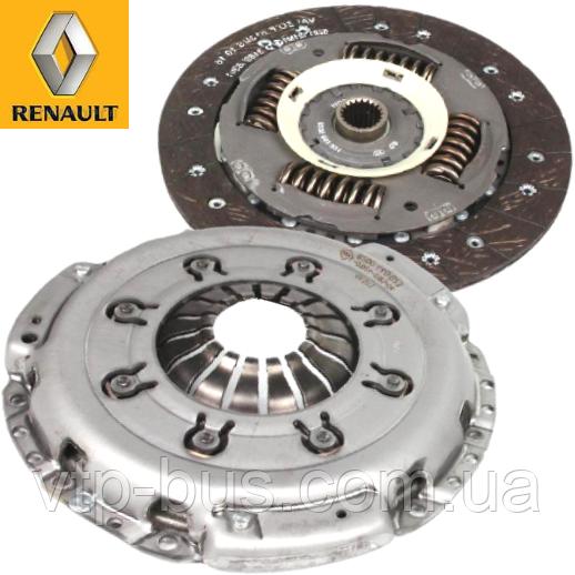 Комплект сцепления на Renault Trafic / Opel Vivaro 1.9dCi (2001-2006) Renault (оригинал) 7701477758