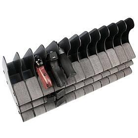 Подставка под 12 пистолетов и 24 магазинов ПЛУ12/24 (281/523/238)