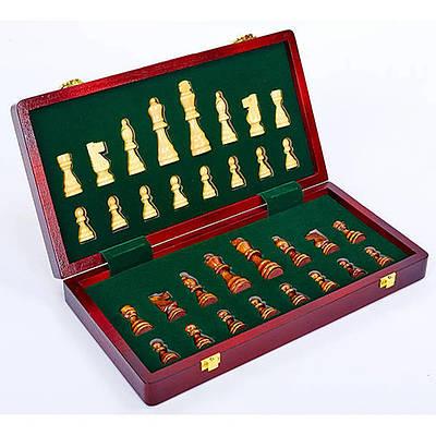 Шахматы настольная игра деревянные ZOOCEN X3118 35см x 35см (SP00068)