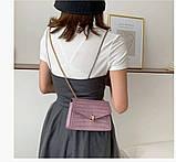 Глянцевая сумка женская, фото 4