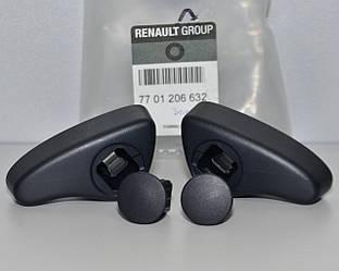 Ручки регулировки спинки сидения (2 шт) на Renault Trafic 2001-> — Renault (Оригинал) - 7701206632