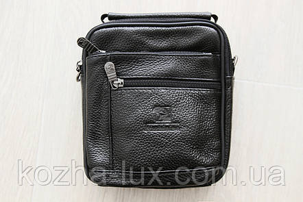 Чоловіча маленька шкіряна сумка, фото 2