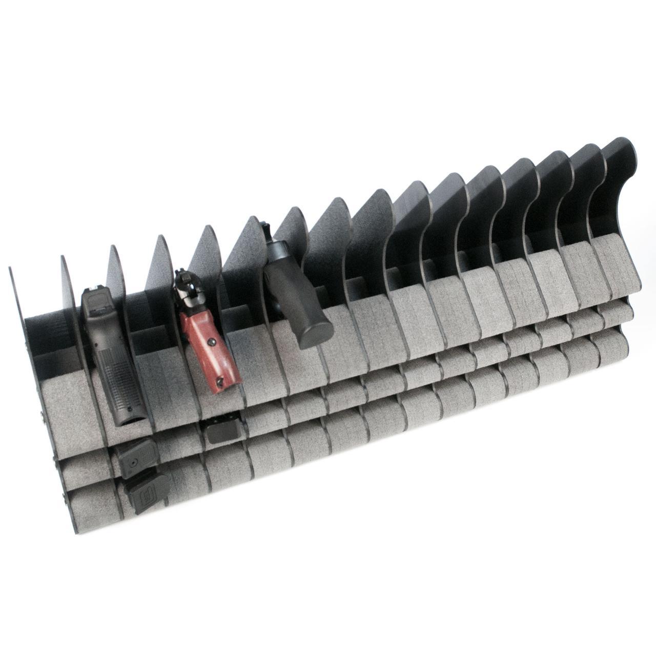 Підставка під 15 пістолетів і 30 магазинів ПЛУ15/30 (281/652/238)