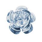 Набор Пайетки Розы Объемные Серебристые 20 штук Диаметр 15 мм для Рукоделие, фото 4