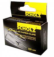 Набор скрепок Scholz треугольные 25 мм 10х100 шт 4700 (4700 x 227206)