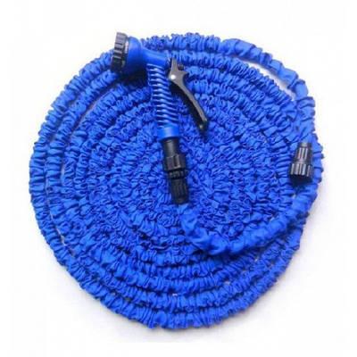 Посилений садовий шланг для поливу Xhose 30 м з розпилювачем Синій (258485)