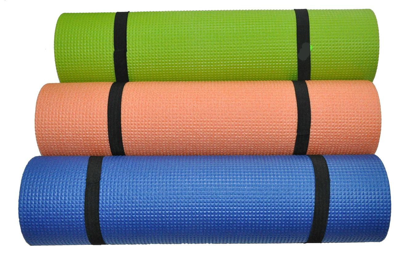 Килимок для йоги та фітнесу Аеробіка