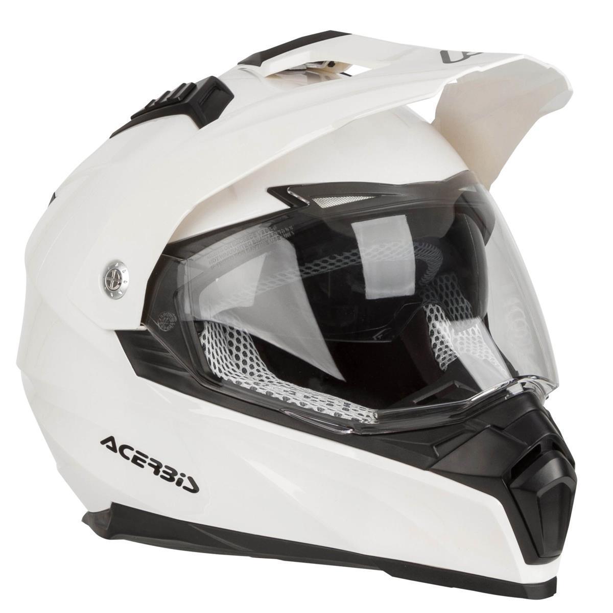 Мотошолом Acerbis Flip FS-606 білий, S