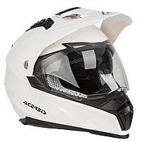 Мотошолом Acerbis Flip FS-606 білий, S, фото 1
