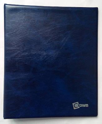 Альбом для монет в холдерах Crown 120 ячеек Синий (0i9dky)