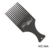 Расческа-гребень с длинными зубцами для вьющихся волос Lady Victory LDV HCС-06А /12-0