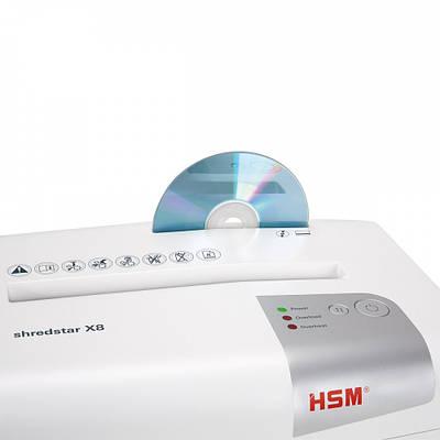 Уничтожитель документов HSM shredstar X8 4.5x30 (4026631057738)