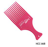 Расческа-гребень с длинными зубцами для вьющихся волос Lady Victory LDV HCС-06В /12-0
